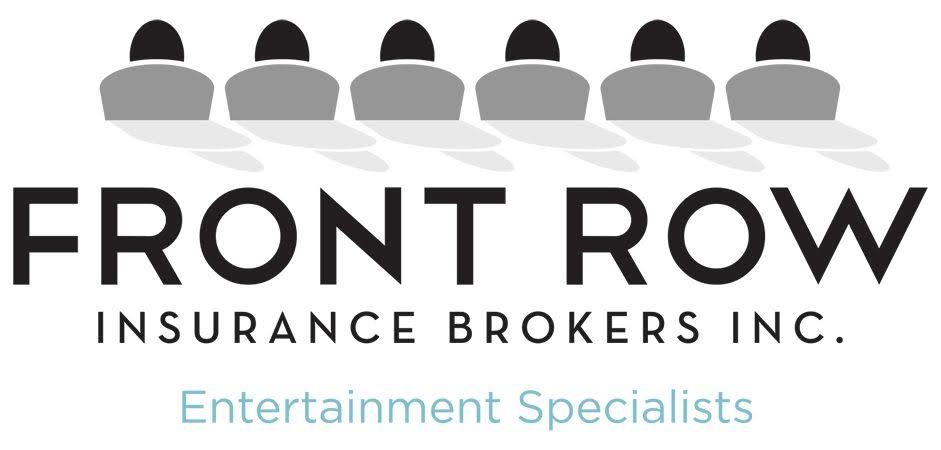 front row insurance brokers logo for southwestern ontario film alliance