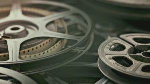 film reels sitting together
